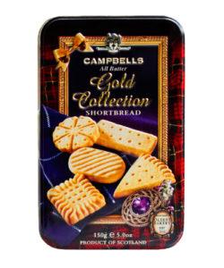 CAMPBELLS песочное печенье Gold Collection ж/б 150г