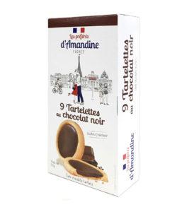 D'AMANDINE печенье песочное с ТЕМНЫМ ШОКОЛАДОМ 125г