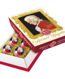 MOZART REBER 355 конфеты с горьким шоколадом 120г