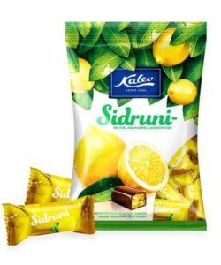 KALEV конфеты мармеладные со вкусом ЛИМОНА 175г