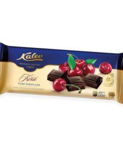 KALEV темный шоколад с ВИШНЕЙ 200г