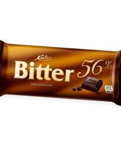 KALEV темный шоколад БИТТЕР 56% горький 100гх15 (0898)