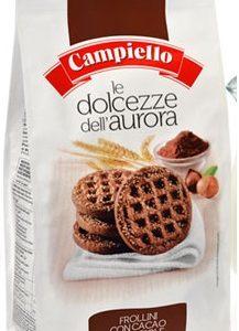 CAMPIELLO печенье АВРОРА с какао и орехом 350г