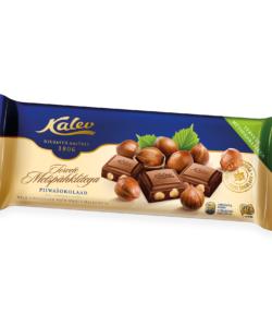 KALEV молочный шоколад с ЦЕЛЬНЫМ ЛЕСНЫМ ОРЕХОМ 200г