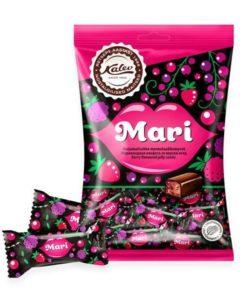 KALEV конфеты мармеладные МАРИ вкус ЯГОД 175г