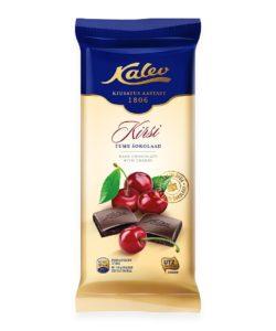 KALEV темный шоколад с ВИШНЕЙ 100г
