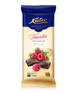 КАЛЕВ шоколад тёмный с МАЛИНОЙ 100г
