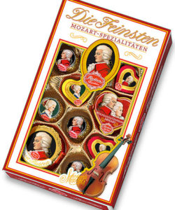 MOZART REBER 333 набор шоколадных конфет 218г