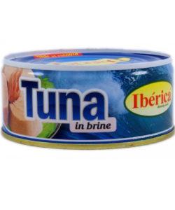 IBERICA тунец в СОБСТВЕННОМ СОКУ 160г