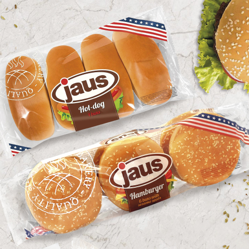 Булочки для гамбургеров JAUS (Германия)