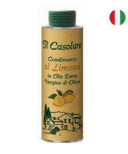 Il Casolare масло оливковое EXTRA VIRGIN нефильтрованное С ЛИМОНОМ 250мл