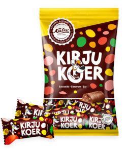 KALEV конфеты КИРКУ КОЕР (печенье с мармеладом) 200г