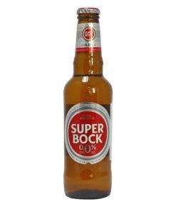 SUPER BOCK пиво безалкогольное 0,0% светлое 330мл