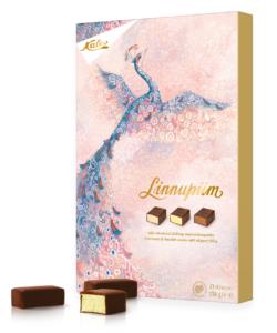 KALEV конфеты ЛИНУПИМ шоколадные Птичье молоко 238гр