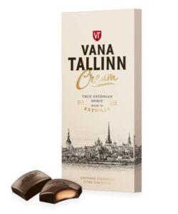 KALEV темный шоколад Vana Tallinn Cream 104г