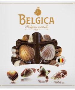 """Belgica конфеты шоколадные с орех.пралине """"Mini Seashells"""" 250г"""