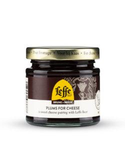 BELBERRY конфитюр к сыру СЛИВОВЫЙ с добавлением Leffe Brune 130г