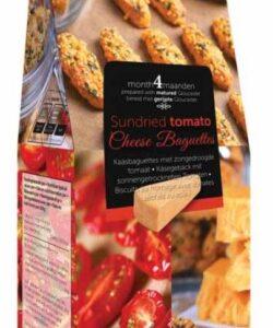 BUITEMAN печенье с сушеными томатами и сыром глостер 75г