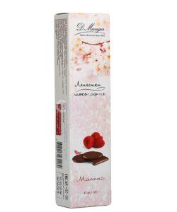 D. MUNGER шоколадные лепестки с МАЛИНОВОЙ начинкой на меду 100г