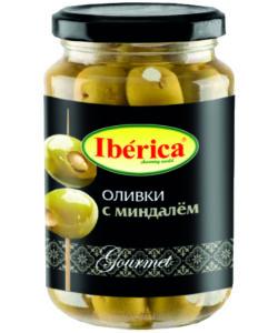 IBERICA оливки с МИНДАЛЁМ 370г